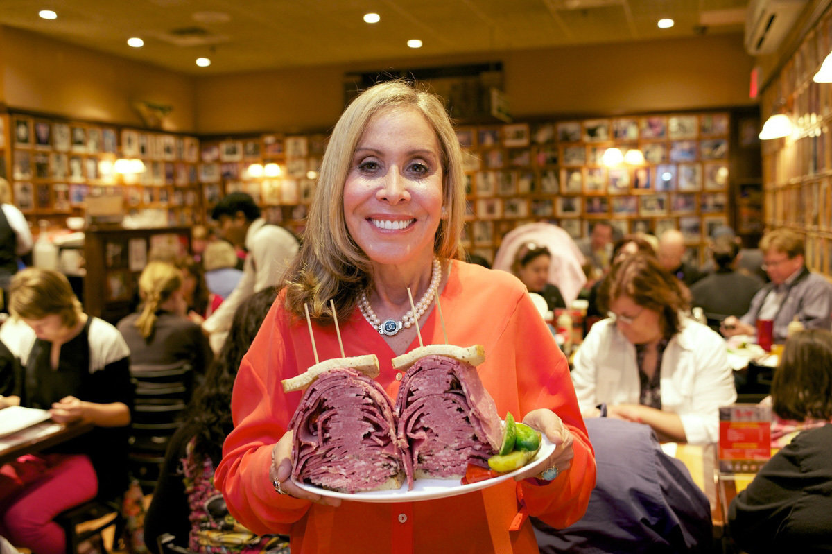 Marian Harper is the owner of the iconic deli. She inherited the restaurant from her father. (Photo: David Verdini/Courtesy of Carnegie Deli)