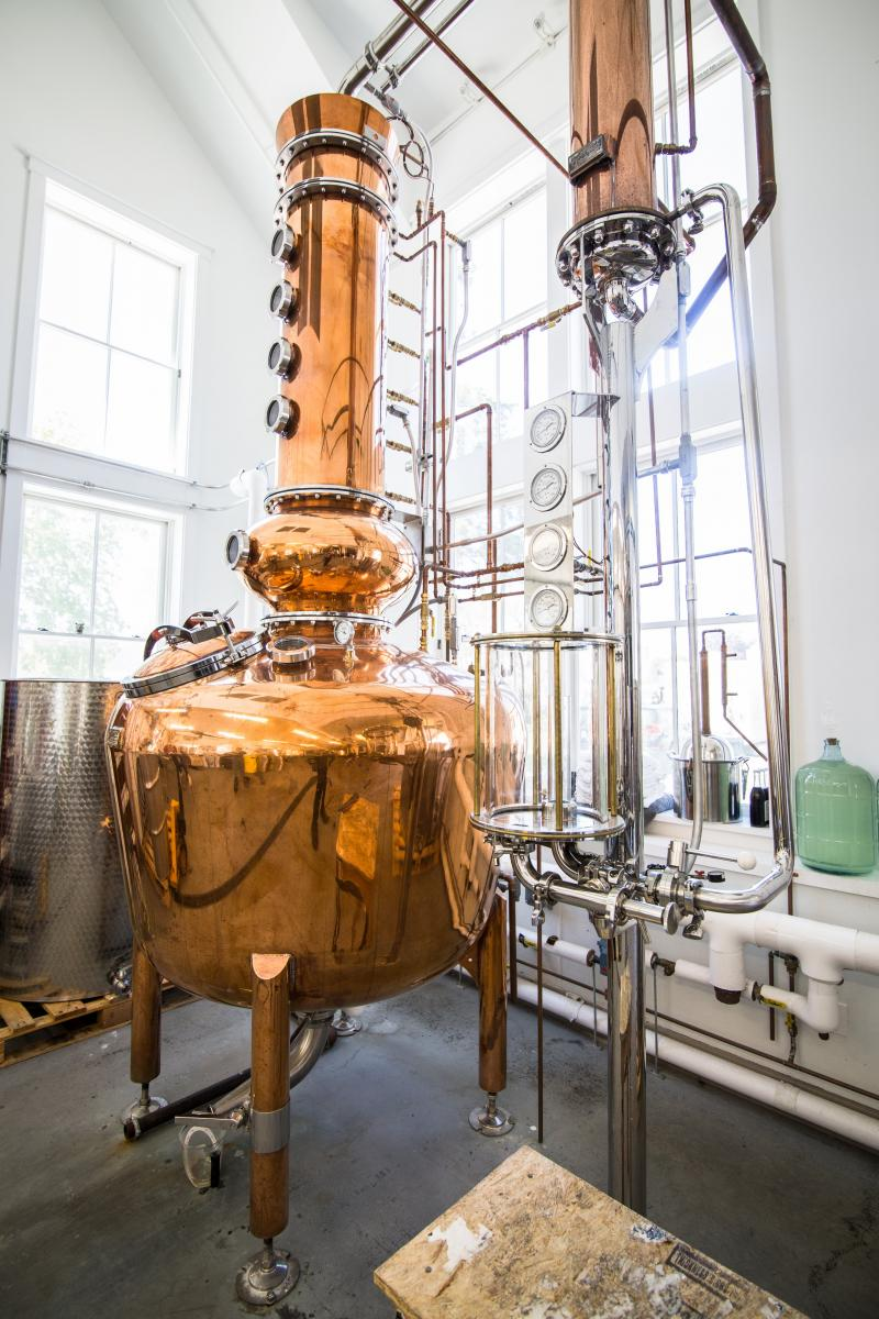 Meet The Cape Cod Distiller Ginning Up Excitement About Local Spirits | WGBH | Craving Boston
