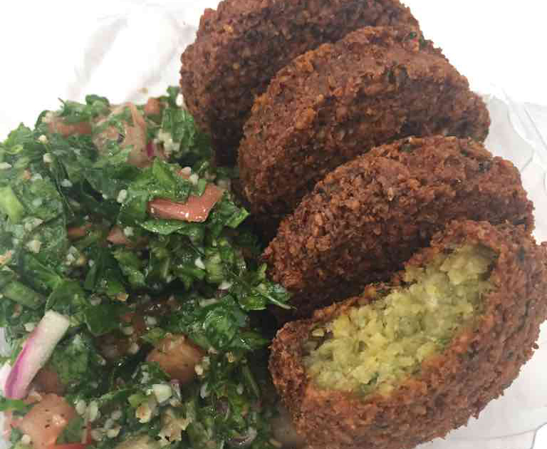 Falafel King Falafel and Tabbouleh