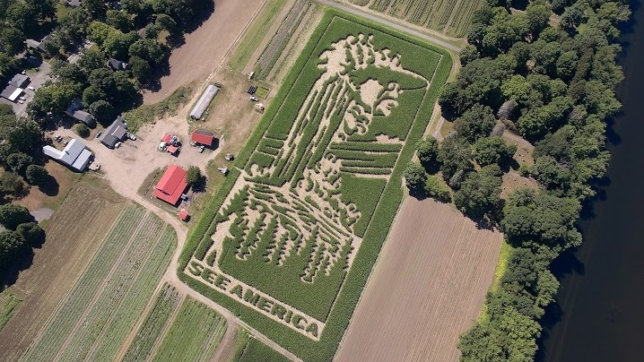 "The theme of Mike's Maze this year is ""See America,"" which commemorates the 100th anniversary of the National Park Service."
