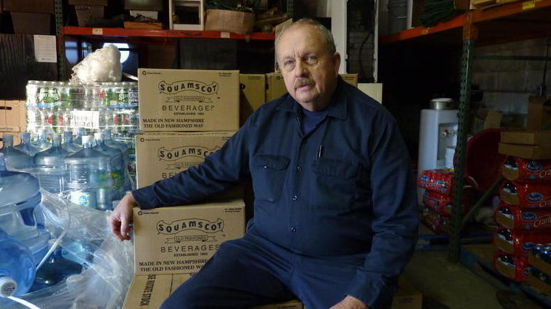 Tom Conner, the current owner of Conner Bottling Works, is part of the fourth generation of the family-owned business. (Photo Credit: Todd Bookman/New Hampshire Public Radio)