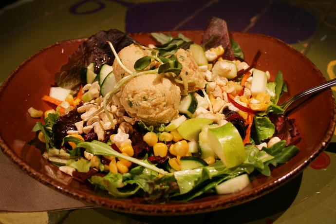The Mystic Mountain salad at Life Alive makes plant-based eating appealing to the masses. (Photo: Lisa Robin Benson) |WGBH| Craving Boston