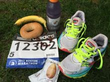 Marathon Runners: How to Make the Most of the Food at the Athlete's Village | WGBH | Craving Boston