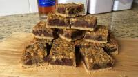 "Chocolate-Walnut (Maple-Bourbon!) ""Derby"" Bars 