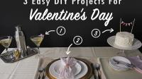 3 Easy DIY Projects for Valentine's Day