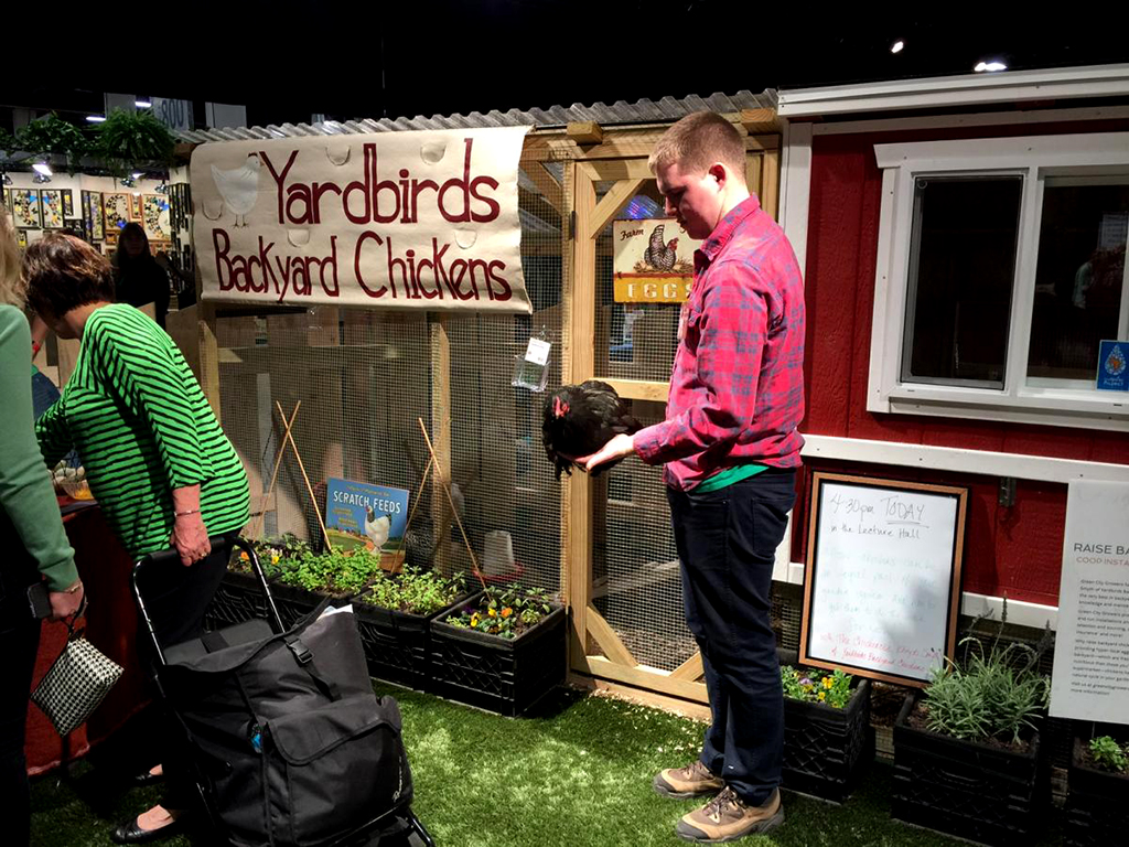 Yardbird helps with everything from the permitting process to procuring the right breed of bird for folks interested in keeping chickens in the city. (Photo: Catherine Smart) | WGBH | Craving Boston